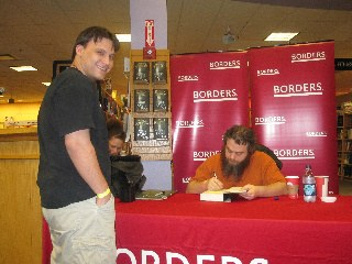 Adam with Patrick Rothfuss