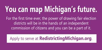 Apply to serve on the committee to redistrict Michigan for elections