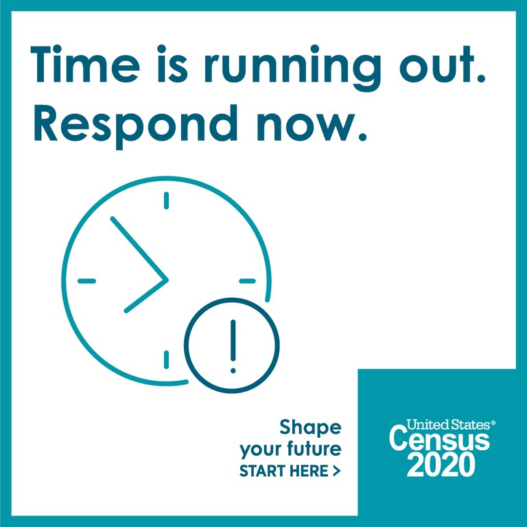 Time is running out to file your census form